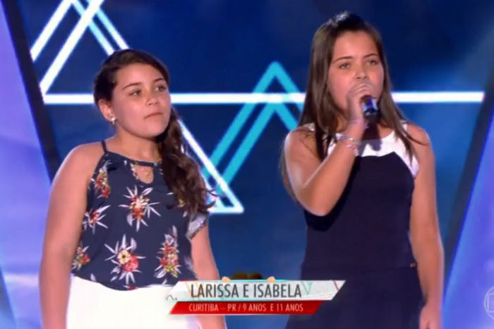 Filhas de casal camaquense concorrem no The Voice Kids